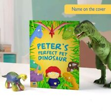 Personalised Perfect Pet Dinosaur Childrens Book Bedtime Softback Birthday Gift