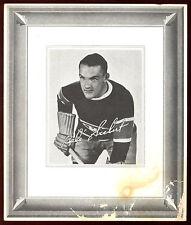 1938-39 QUAKER OATS #110 BABE SIEBERT MONTREAL CANADIENS ORIGIANAL HOCKEY PHOTO