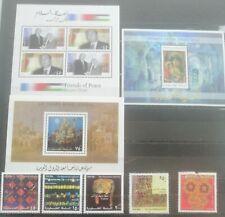 Palestine 2004-2005 lot MNH stamps last one damaged