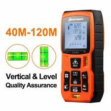 120m Laser Rangefinder High Precision Infrared Distance Meter Indoor Measuring