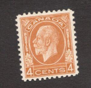 #198. - Canada - 1932 -  4 Cent - MNH  - VF - superfleas