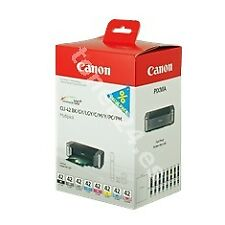 Multipack canon Cli-42bk-c-m-y-pm-pc-gy-lgy pack 8