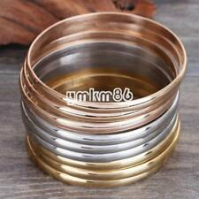 Fashion Silver Gold Rose Gold Stainless Steel Jewelry Set Bracelet Cuff Bangle