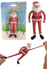 Stretchy Father Christmas - Stocking Toy Loot/Party Bag Fillers Childrens/Kids