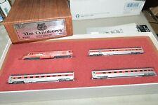 N scale Con-Cor New York Hew Haven Rr The Cranberry locomotive passenger set