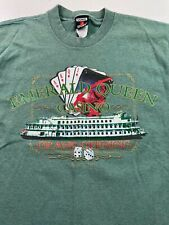 Vintage 90s Emerald Queen Casino T Shirt 1997 Grand Opening Single Stitch Small
