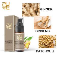 PURC 30ml Hair Growth Spray Essential Oil Anti Hair Loss Sprayer Ginger Unisex