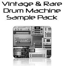 Vintage & Rare Drum Machine Sample CD - FREE UK MAINLAND P&P!