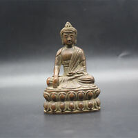 Chinese Tibet Buddha Bronze statue old Worship Buddha statue