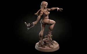Magdalena - Exotic NunBite the Bullet Pinup 32mm Fantasy D&D Miniature