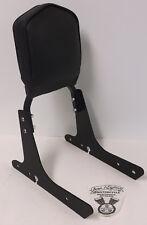 Harley Davidson Black '04 - up Sportster Rigid Sideplates Sissy Bar Backrest Pad
