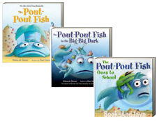 Pout-Pout Fish,In The Big Big Dark,Goes to School (3 Board Book)FREE ship $35
