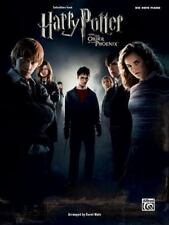 Selections from Harry Potter and The Order of the Phoenix: Big Note Piano