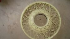 Vintage Car Wire Wheel