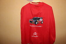 CAPE CITROEN DS3 WRC SEBASTIEN LOEB 2012 NO TEE SHIRT POLO RALLY RALLYE