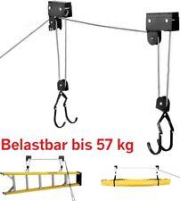 Bike-Lift XL E-Bike Lift Deckenlift Fahrrad Deckenhalter bis 57 kg Bikelift