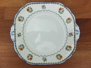 "Vintage Mosaic NEW CHELSEA STAFFS ""Dysart"" Cake Serving Plate"
