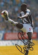 WEST BROM: LEON BARNETT SIGNED 6x4 ACTION PHOTO+COA