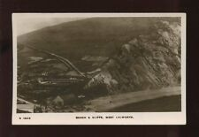 Dorset WEST LULWORTH Beach and cliffs 1923 RP PPC by Kingsway