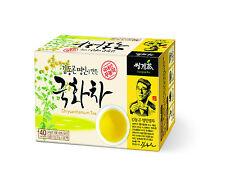 100% Natural Korean Organic Chrysanthemum Tea 40 Tea bags Ssanggye