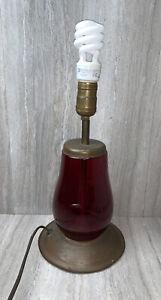 Arts & Crafts Mission Copper Dietz Lantern Lamp Signed Stamped Craftsman Hand C4