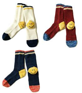 Kapital Kapital Smiley Heel Socks 3 colors Made in Japan New