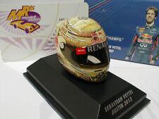 "Minichamps 381120101 - ARAI Helm Austin 2012 "" Sebastian Vettel "" 1:8"