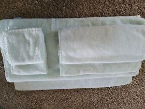 Egyptian Cotton Mint Green Bath Towel Set