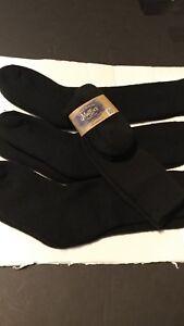 1, 2 OR 3 PAIR Maggies Certified Organic wool socks Sz. 9--11 Black