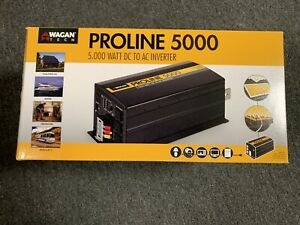 Wagan Tech - ProLine 5000W Power Inverter - Black