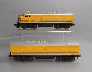 Lionel 2379 Vintage O Rio Grande F3 AB Diesel Locomotive Set