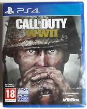 Call of Duty - WWII Ww2 World War 2 Sony Ps4 PlayStation 4 Game