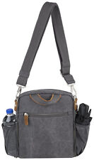 Travelon Bags Anti-Theft Heritage Tour Bag Purse - Pewter