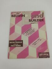 Belwin Band Builder Part 3 Bb Tenor Saxophone Intermediate Band Method