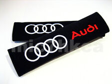 2x soft car seat belt harness cushion shoulder cover pads for AUDI (UK stock)