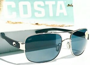 NEW* Costa COCOS Palladium POLARIZED Gray 580P Sunglass CC 21 OGP