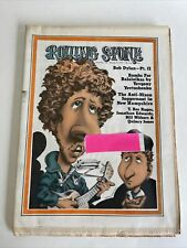 ROLLING STONE MAGAZINE ISSUE 104 BOB DYLAN MARC BOLAN MARCH 16 1972