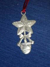 """2.25"""" Seagull Potted Star Tree Christmas Ornament Canada 1996"""