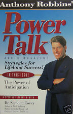 Anthony Robbins Power Talk : Strategies for Lifelong  Success Magazine Cassette
