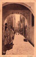 LIBIA ITALIANA - TRIPOLI - MERIGGIO - RARA CARTOLINA - ANNI '20