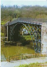 Shropshire Postcard - The World's First Cast-Iron Bridge R427