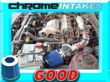 RED BLUE 86-89 TOYOTA CELICA ST/GT/GTS 2.0 2.0L 4CYL AIR INTAKE INDUCTION KIT