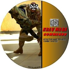 KRAV MAGA COMBAT LESSONS VIDEO GUIDE DVD EFFECTIVE COMBAT & DEFENCE SKILLS GUIDE