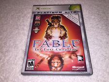 Fable: The Lost Chapters (Microsoft Xbox) Platinum Hits Complete Vr Nice!