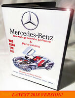 Mercedes / Smart WIS ASRA EPC Workshop Service Shop Repair Manual 4-DVD BOX SET