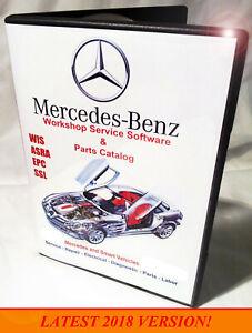 Mercedes / Smart WIS ASRA EPC Workshop Service Shop Repair Manual 4-DVD BOX SET