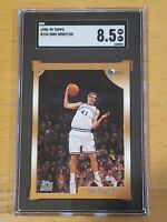 1998 Topps #154 Dirk Nowitzki RC Rookie Beautiful Centered SGC 8.5 PSA BGS ?