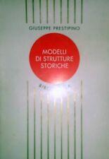 PRESTIPINO MODELLI DI STRUTTURE STORICHE PRIMATO ETICO POSTMODERNO BIBLIOTHECA