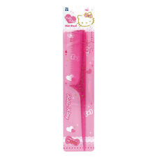 Hello Kitty Fine Toothed Rat Tail Hair Comb Plastic Pearl Pink HK072