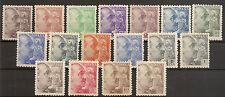 Edifil  919/935** LUJO  General Franco  1940/45  Serie completa  NL817